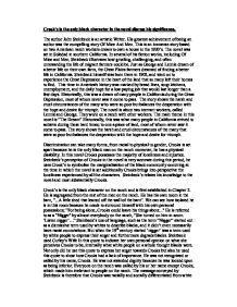 crooks essay gcse english marked by teachers com page 1 zoom in