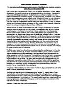 Essay on relationship with god