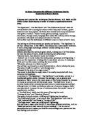 Horror story essay