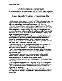 a mid summer nights dream essay An essay about obstacles in true love in a midsummer night's dream by william shakespeare.