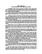Mark antony vs brutus speech essay