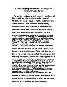 lady macbeth evil essay