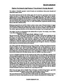 Macbeth gcse essay