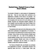 macbeth essay amp145macbeth tyrant or tragic hero