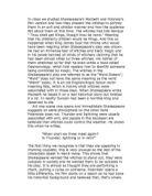 an analysis of macbeth in elizabeth times