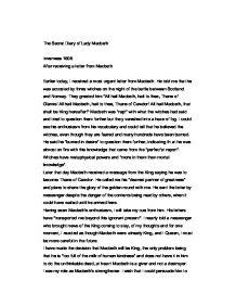 """Polanski's Film Version of """"Macbeth"""" Essay Sample"""