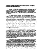 Help with English monologue?