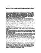 how does the relationship between macbeth and lady macbeth change throughout the play Macbeth's and lady macbeth's relationship changes throughout the course of the play in the beginning we see lady macbeth playing the more superior, more dominating role of the two as the play progresses and duncan is killed, macbeth seems to become the more superior one and makes this own decisions.