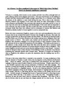 Essay sample   Explore how Shakespeare uses characters voices to convey  thir feelings and attitudes in Act   Scene   of Much Ado about Nothing
