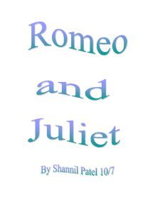 romeo and juliet coursework conclusion