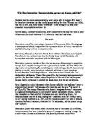 Friar lawrence essay