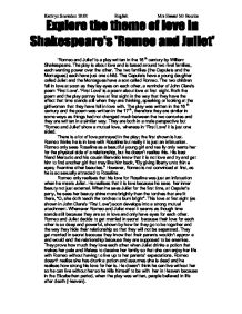 romeo juliet william shakespeare does romeo change through How does romeo change in romeo and juliet  what's above this text is from the movie william shakespeare's romeo and juliet  why does juliet want romeo to.