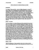 friar lawrence blame essay