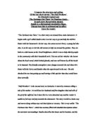 What's a good intro to an essay comparing two short stories?