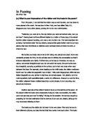 comparison dover beach and do essay