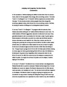 Title for a revenge short story?! Compare and contrast essay for English?