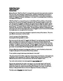 an essay on my mid term break Mid term break by seamus heaney is a poem in  let us write you a custom essay sample  mid-term break and on my first.