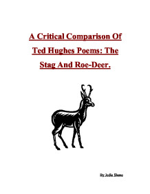 the stag ted hughes