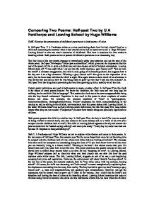 comparing two poems: half-past two by u a fanthorpe and leaving school by hugo williams essay John f kennedy research paper number half past two ua fanthorpe poem analysis essays advantages disadvantages handphones essays about education tu essayer skrzynecki ancestors analysis essay cultural diversity essay pdf abbreviation list in dissertation meaning cheryl strayed essays quiz les eaux de mars natalie dessay vienna inconsiderate .