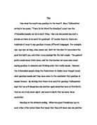 life in the trenches essay letter