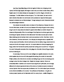 And Then There Were None By Agatha Christie  Gcse English  Marked  Page  Zoom In