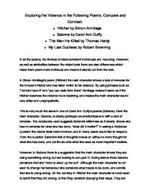 essays on stealing by carol ann duffy Read the essay free on booksie essay - valentine by carol ann duffy essay - valentine by carol ann duffy reads: 30040 | likes.
