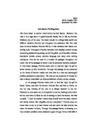 essay compare and contrast two poems with same theme