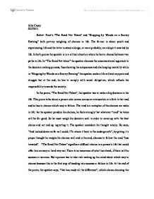 Essay Paper Help Page  Zoom In Thesis Statement Descriptive Essay also Essay On Health Care Reform Robert Frosts The Road Not Taken And Stopping By Woods On A Snowy  Proposal For An Essay