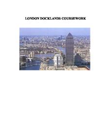 Reurbanisation Case Study: London Docklands Essay Sample