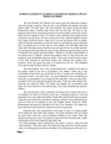 compare and contrast the speakers essay How to do a compare and contrast essay outline click to see example the content of a compare and contrast essay is about two different, yet relatively related entities which are critically analyzed on the basis of their similarities or differences.