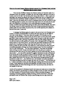 A christmas carol essay help