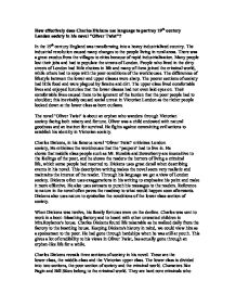 essay on oliver twist by charles dickens Charles dickens oliver twist essays - charles dickens' oliver twist.