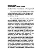 an analysis on how dickens was able to create suspense in the signalman The signalman 'the signalman' was written in the early 18th century, by charles dickens this story is set in the victorian era, where technology and machinery did not play an important role in the livelihood of people, but images and honesty did.