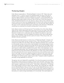 an analysis of characters in chapter 6 of the emily brontes wuthering heights Chapter ii, page 6: read wuthering heights, by author emily bronte page by page, now free, online.