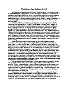 what is so great about the great gatsby gcse english marked  page 1 zoom in