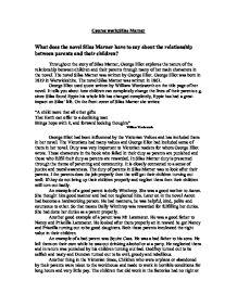 Silas marner essays
