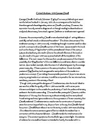 critical analysis george orwell gcse english marked by   prose fiction · george orwell · 1984 page 1 zoom in
