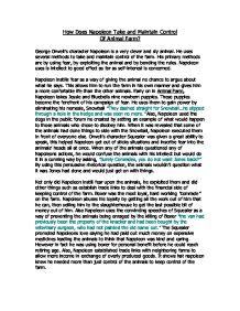 Animal farm five paragraph essay