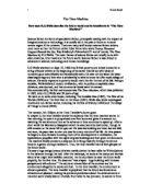 Crucible guilty suspicion essay