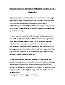 to kill a mockingbird essay about prejudices Essay on prejudice to kill a mockingbird сергей.
