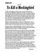 how does harper lee explore the themes of empathy and tolerance in  to kill a mockingbird by harper lee is a novel that teaches the audience