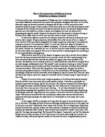 ian mcewans enduring love essay Ian mcewan helped his son write an essay about his own novel his son  greg  — analyze his novel enduring love for greg's a-level essay.