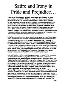 relationships in pride and prejudice essay