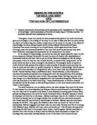 casterbridge essays