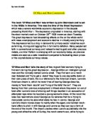 of mice and men dreams essay introduction