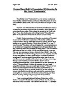 the study of alienation in mary shelleys novel frankenstein