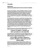 analytical essay of frankenstein
