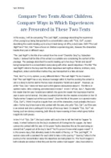 Compare Two Teachers Essay
