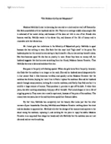 madame mathilde essay The secret life of the necklace english literature essay nicole m pasquale introduction to literature madame forestier ends mathilde a beautiful diamond necklace.