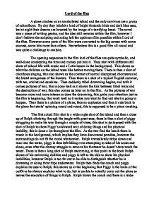 essay on the prose piece university days